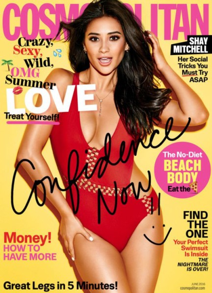 Shay Mitchell Cosmo
